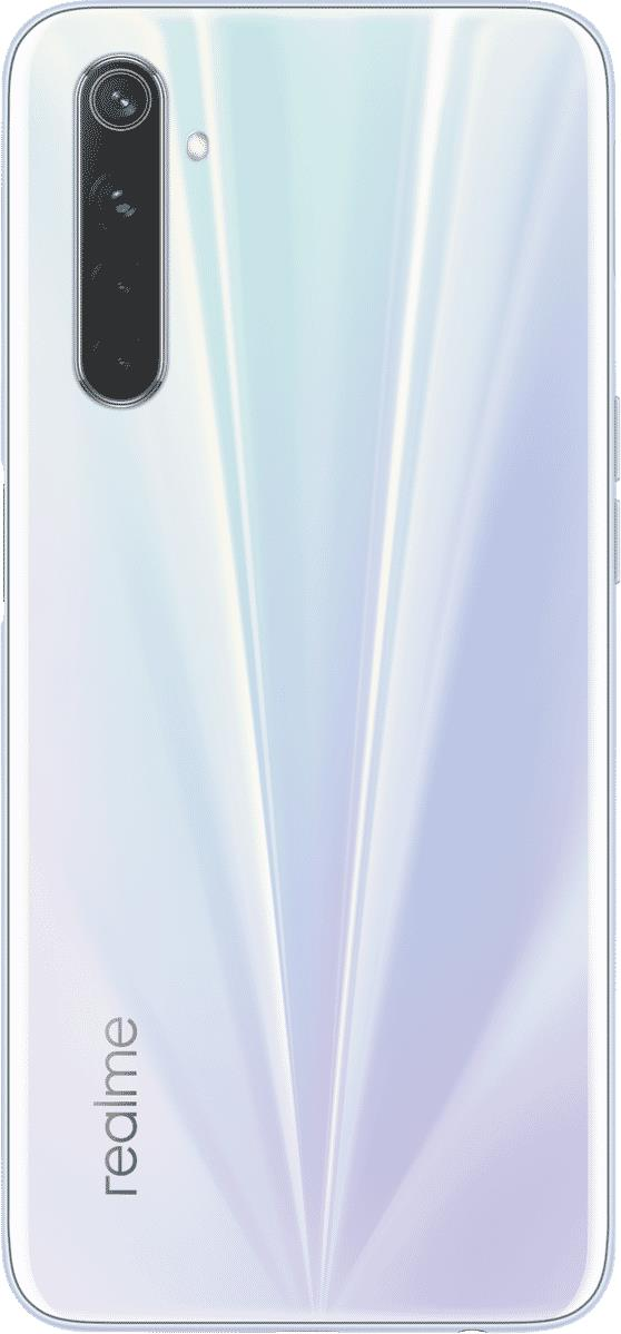Achieve perfect photo clarity with the realme 6 mobile phone RMX2001 WHITE's quad rear camera. The...