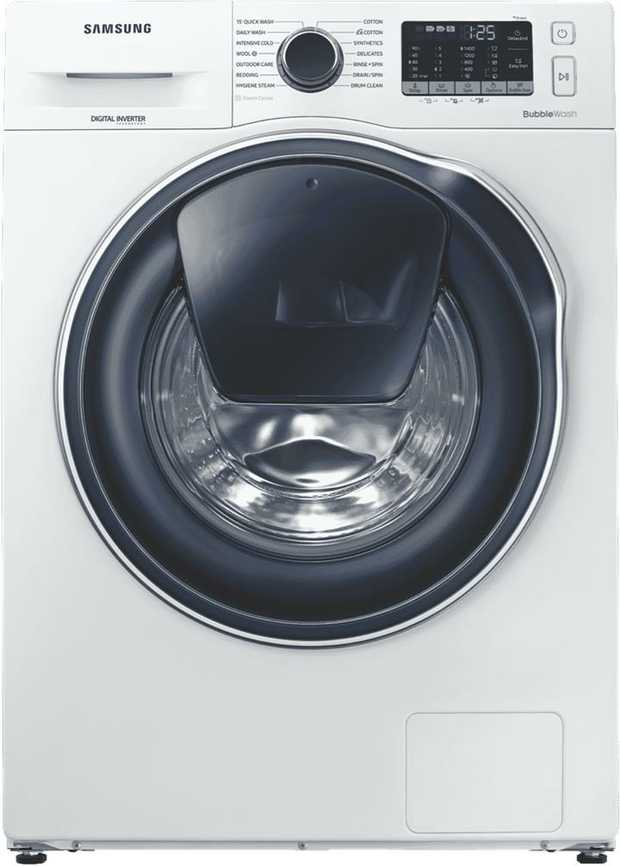 Remove bacteria with Steam Cycle. Use the power of steam to sanitise and clean your clothes with...