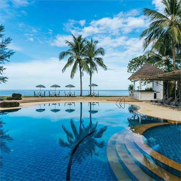 Head to the unspoiled shores of Khao Lak where cobalt waters, national parks and pristine Lam Kaen...