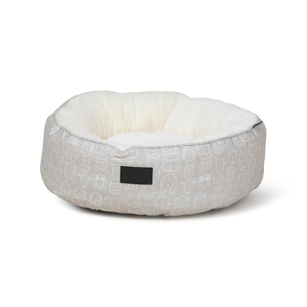 la doggie vita bed removable cushion taupe  large | La Doggie Vita dog | pet supplies| Product...