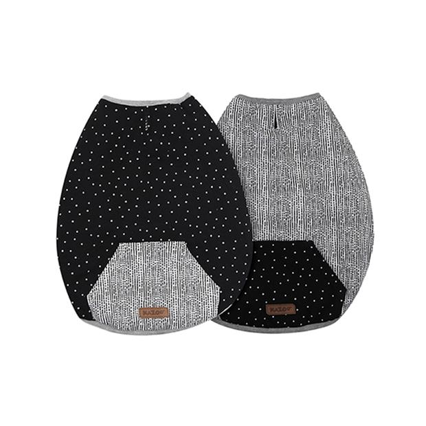kazoo lamington reversable snuggle black white  x small | Kazoo dog | pet supplies| Product...