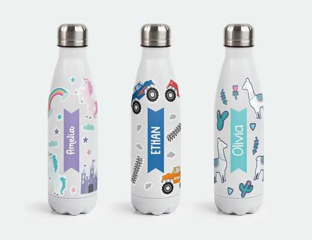 Sticker Bomb Water Bottle | Water Resistant Stickers For Water Bottles Kids love this sticker bomb...