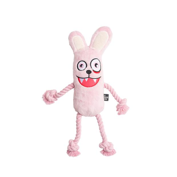 la doggie vita toy rope bunny  each | La Doggie Vita dog toy&accessories; | pet supplies| Product...