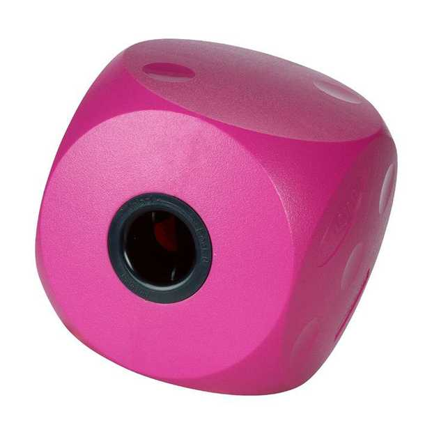 Buster Food Cube Interactive Treat Dispensing Dog Toy - Mini - Cherry