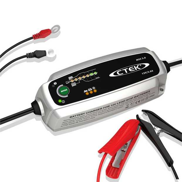 The CTEK MXS 3.8 battery charger is an advanced microprocessor controlled battery charger with patented...