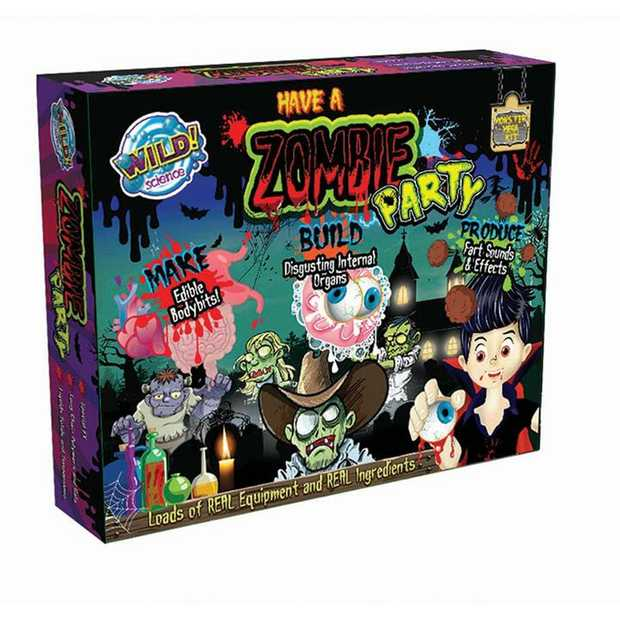 3 kits in 1! Combines the Zombie Jelly and Fart Putty workshop kits. Plus a new Zombie Scrub...