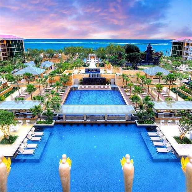Mulia Resort is back: a multi-award-winning celebrity favourite and legend of Bali's Nusa Dua...