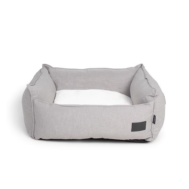 la doggie vita dog bed linen high side stone grey  large | La Doggie Vita dog | pet supplies| Product...