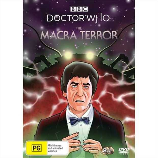 Doctor Who - The Macra Terror DVD         The Doctor (Patrick Troughton)...