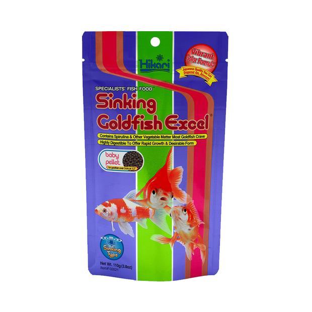 hikari goldfish excel sinking baby  110g | Hikari food | pet supplies| Product Information:...