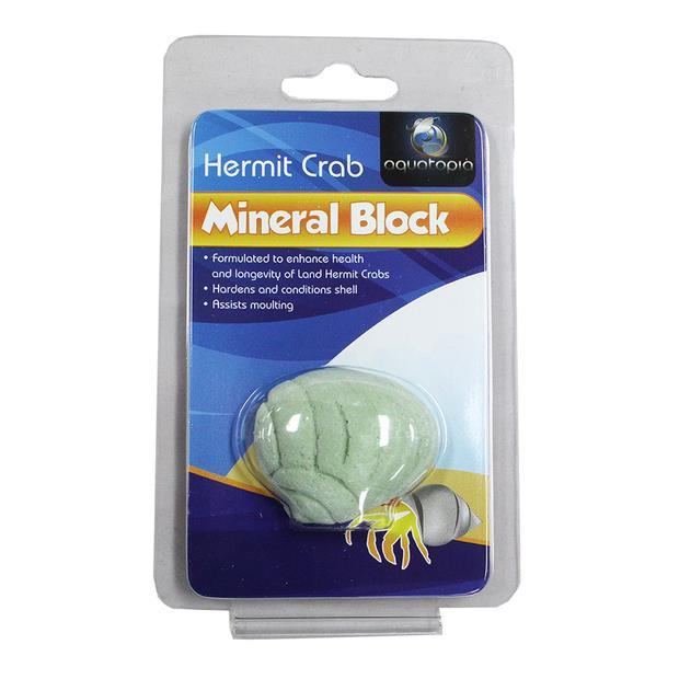 aquatopia hermit crab mineral block  each | Aquatopia | pet supplies| Product Information:...