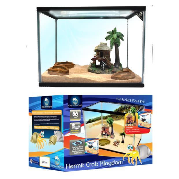 aquatopia hermit crab kingdom  each | Aquatopia | pet supplies| Product Information:...