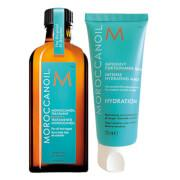 Moroccanoil Intense Hydrating Mask 75ml  Treat yourself to a quick, reviving five-minute hair mask.