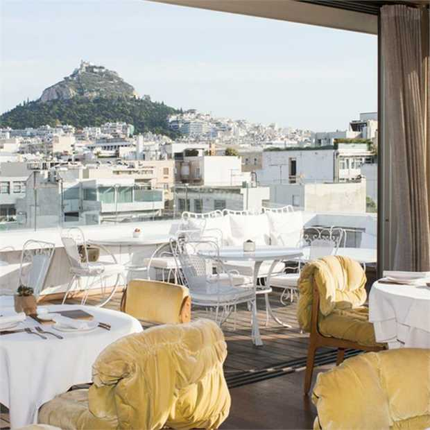 Enjoy a Greek city break at the five-star NEW Hotel, Athens, with eye-popping views of the Acropolis...