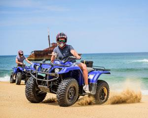 Discover the Stockton Bight Sand Dunes on a Quad Bike adventure! Be guided through the largest moving...