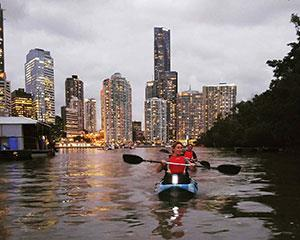 The Brisbane river tours start and end at West End where there is easy access to the river and plenty...