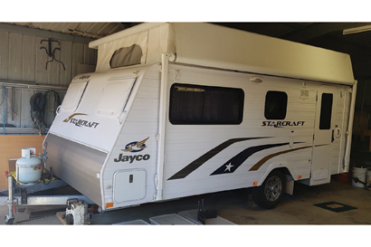 16' Jayco Starcraft poptop