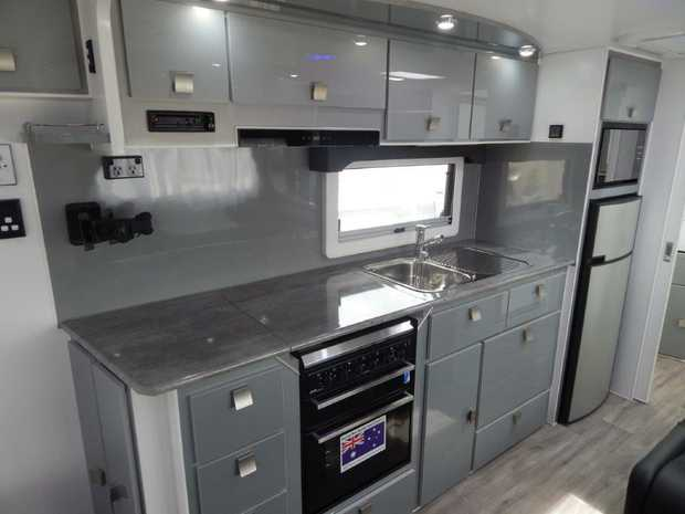Island Star - 23ft 2018 GETAWAY Upmarket & Fully Loaded With Lots Of Extras Demo model for sale...