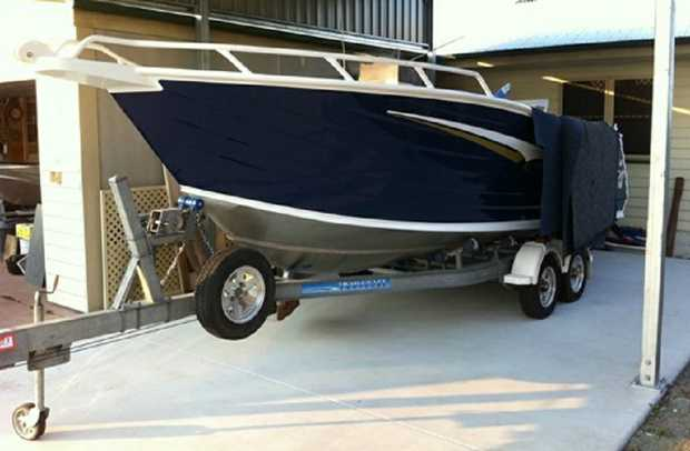 Trailcraft Boat 20ft.