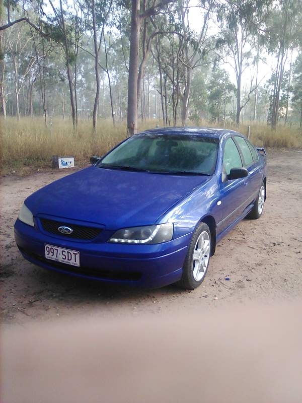 Ford BA XT Rear Spoiler XR6