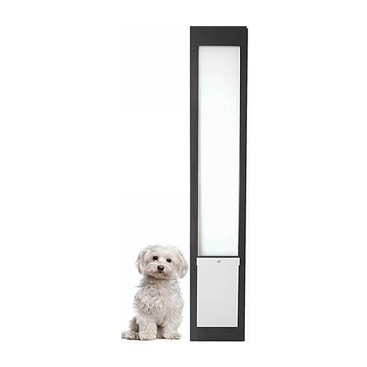 Patiolink Custom Height Sliding Door Pet Door Panel Insert & Locking Bracket for Doors 2.1-3 Meters