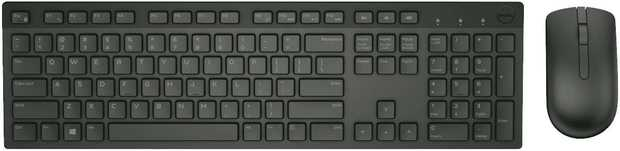 Refresh your workspace with the Dell Wireless Keyboard and Mouse KM636. Designed to complement the...