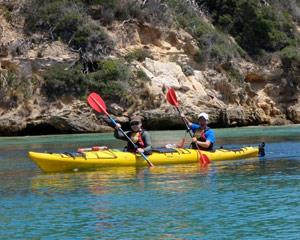 This Sorrento Sea Kayaking trip is for people who want to get away from it all! This adventure takes...