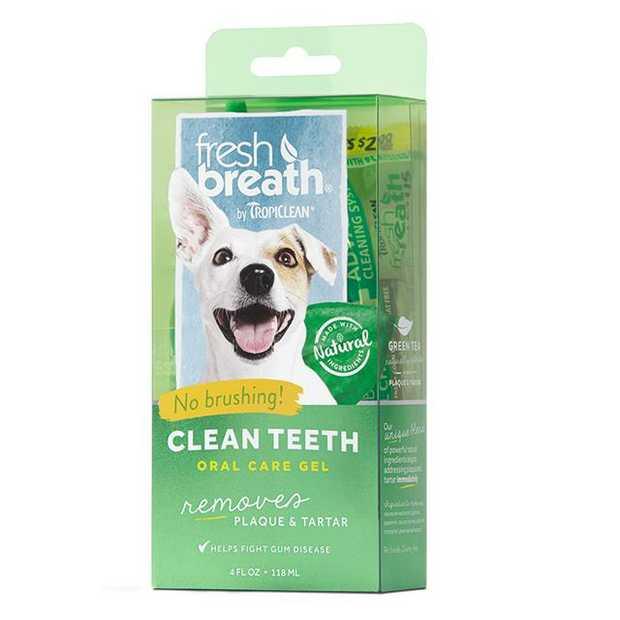 tropiclean dog clean teeth gel  236ml | Tropiclean dog | pet supplies| Product Information:...