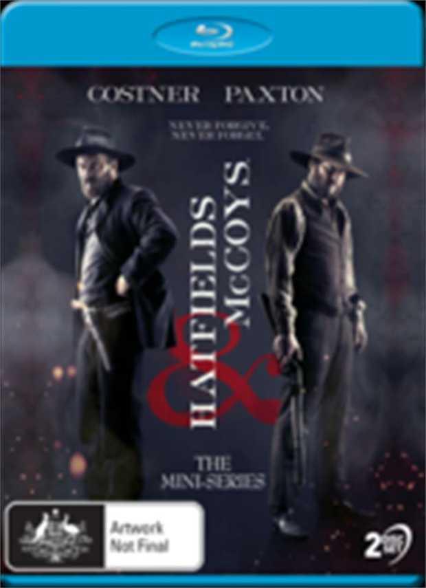 Hatfields And Mccoys - Mini Series Blu-Ray      Never Forgive. Never...