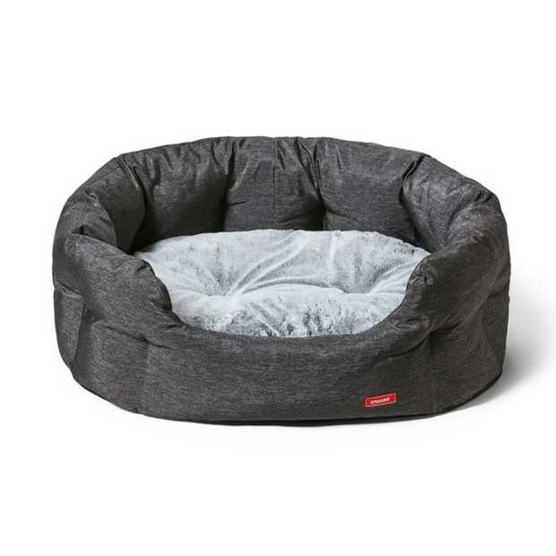 Snooza Supa Granite Dog Bed is a comfy, durable and water-resistant dog bed that is perfect for the...