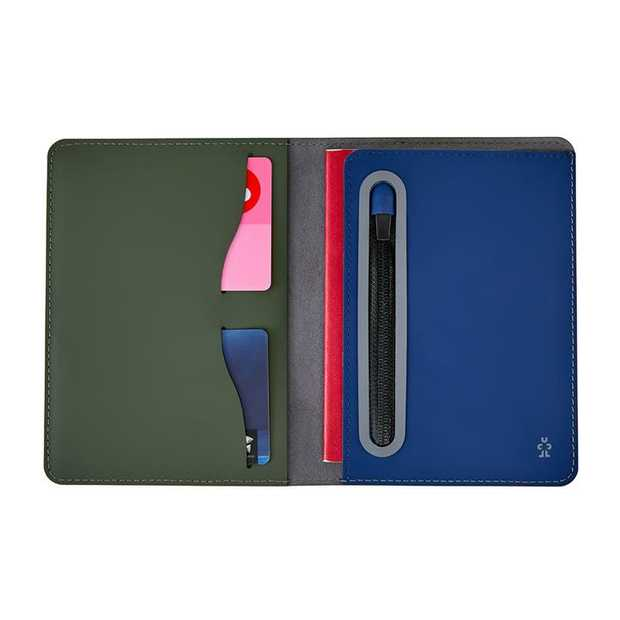 The ultra-cool, slim line and smooth finish Supine is a minimal and reliable passport wallet. Made from...