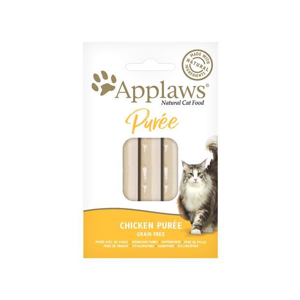 applaws cat treats puree chicken  16x7g | Applaws cat treat&&litter; | pet supplies| Product...
