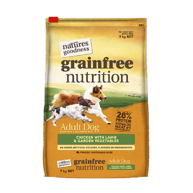 natures goodness dry dog food adult chicken lamb and veg  7kg | Natures Goodness dog food | pet...