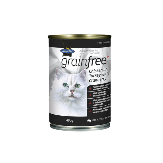 fussy cat grain free wet food adult chicken and turkey  12 x 400g | Fussy Cat cat food | pet supplies|...
