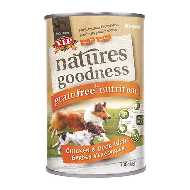 natures goodness wet dog food adult chicken duck and vegetable  12 x 700g | Natures Goodness dog food |...