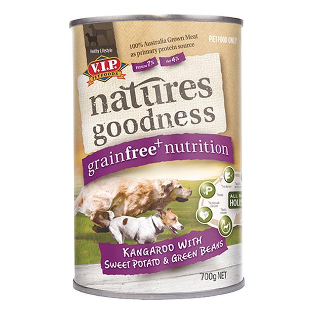 natures goodness wet dog food adult kangaroo potato and beans  12 x 400g | Natures Goodness dog food |...