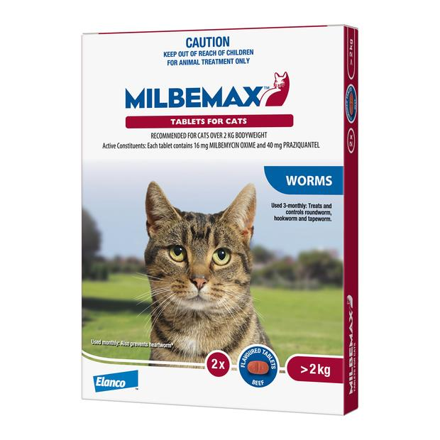 milbemax all wormer for cats  20 pack | Milbemax cat Flea&Tick; Control | pet supplies| Product...