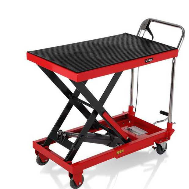 The T-REX™ 350kg Hydraulic lift table cart delivers convenience and superior safety to your premises.