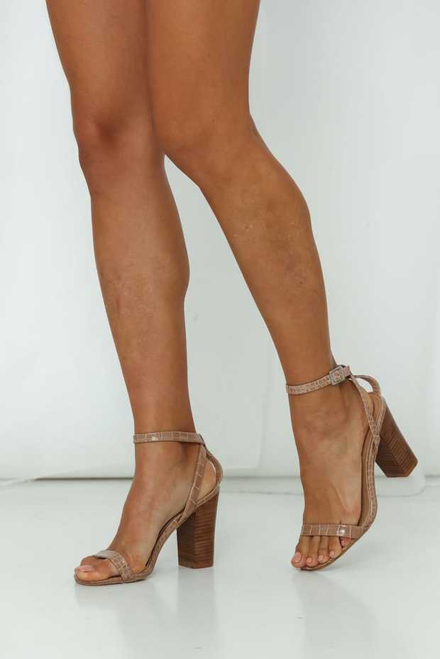 Beige upper.