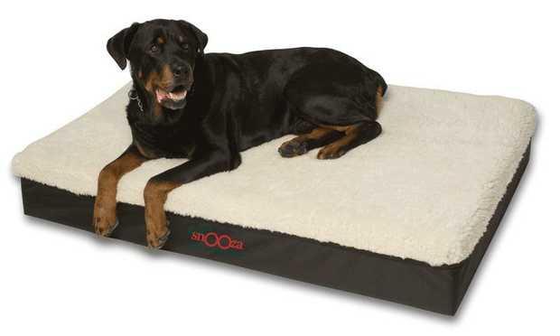 Snooza Big Dog Bed - Mock Lambswool