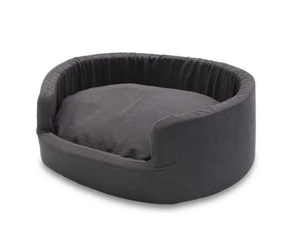 Snooza Buddy Bed Dog Bed - Metro Slate - Medium