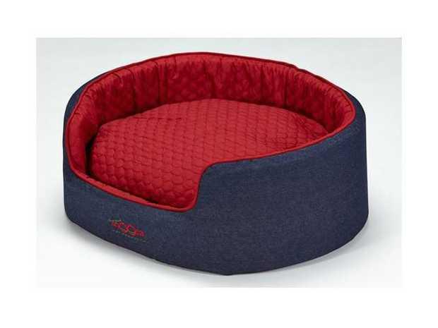 Snooza Buddy Bed Dog Bed - Denim - Medium