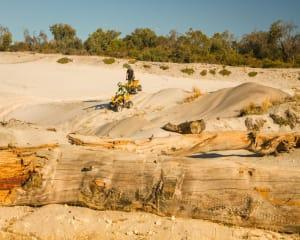 Experience quad biking around Perth on a Can Am DS 250 quad bike in some of the most stunning...