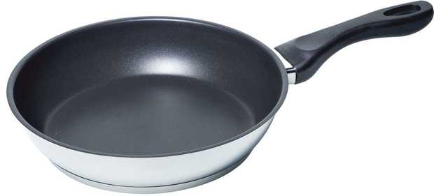 Fits on all cooktops (radiant and induction) with frying sensor 21 cm Diameter bottom