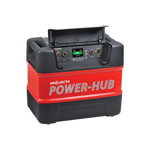 Portable Power-Hub Power-Hub turns your battery into a versatile user friendly option for powering and...