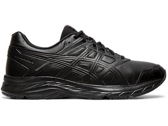 Go further with the GEL-CONTEND 5 SYNTHETIC LEATHER athletic walking shoe by ASICS, created to offer...