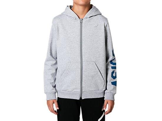The FRENCH TERRY GPX FULL ZIP HOODIE full-zip hooded top by ASICS is a great basic for any athlete's...