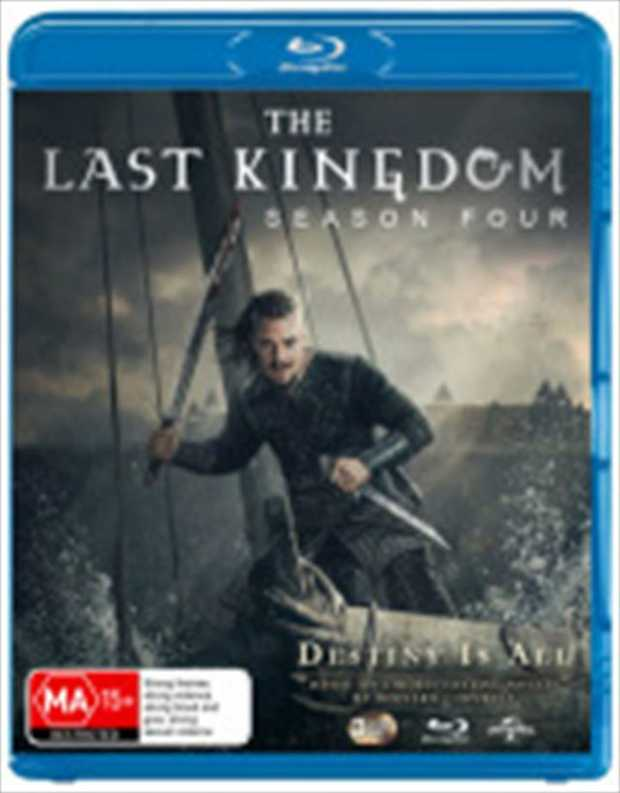 The Last Kingdom - Season 4 Blu-Ray         As Alfred the Great defends...