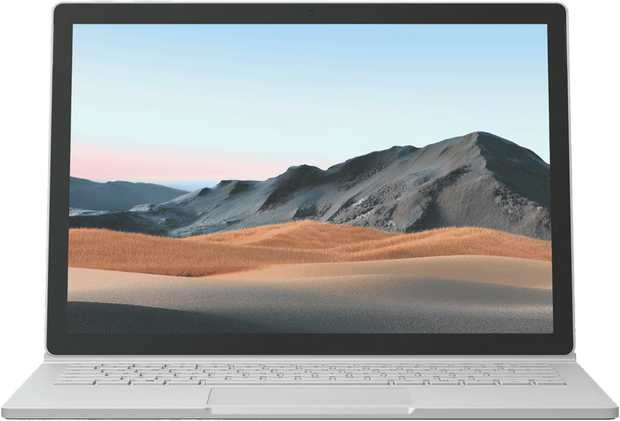"""This Microsoft Surface Book 3 13.5"""" i5 8GB 256GB V6F-00015 laptop's 8 GB of memory enables you to take..."""
