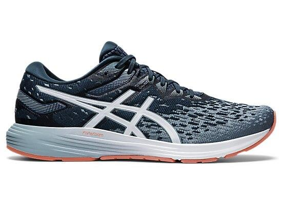 Get moving and get moving fast with the premium DYNAFLYTE 4 men's performance running shoe from ASICS...
